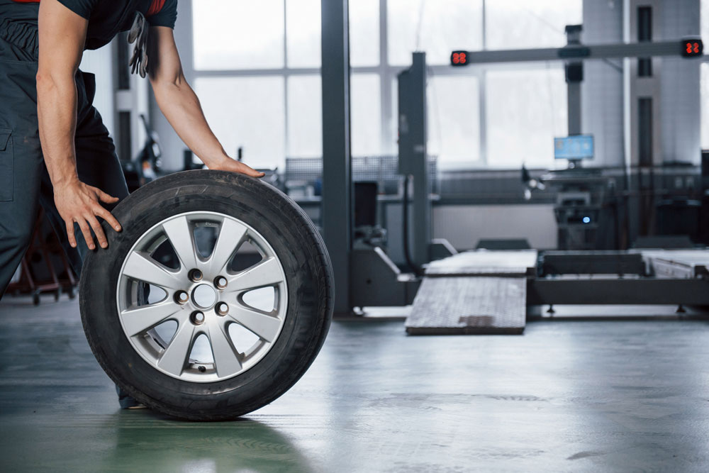 automotive tires and wheels